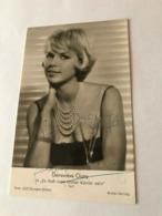 Genevieve Cluny Actress Photo Autograph Hand Signed 10x15 Cm - Dédicacées