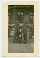 Homme Man Men Militaire Gendarme Moto Motard  ? - Personnes Anonymes