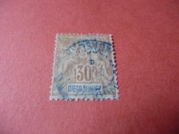 TIMBRE    DIEGO-SUAREZ      N  46      COTE  7,00  EUROS    OBLITÉRÉ - Diégo-Suarez (1890-1898)