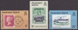 Série De 3 TP Neufs ** N° 213/215(Yvert) Ascension 1976 - Festival Du Timbre - Ascension (Ile De L')