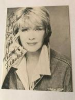 Anne Francis Singer Photo Autograph Hand Signed 10x15 Cm - Dédicacées