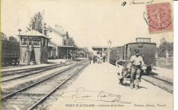 PORT D'ATELIER  Intérieur De La Gare - Autres Communes