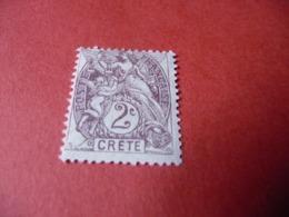 TIMBRE    CRÈTE      N  2      COTE  2,50  EUROS    NEUF  TRACE  CHARNIÈRE - Kreta (1902-1903)