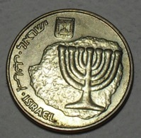 1998 - Israel - 5758 - 10 AGOROT -  KM 158 - Israel