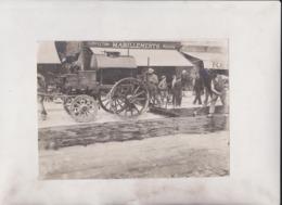 CONFECTION HABILLEMENTS MESURE  ROADWORKS    20*15 CM Fonds Victor FORBIN 1864-1947 - Métiers