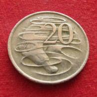 Australia 20 Cents 1970 KM# 66  *V1  Australie Australien - Australia
