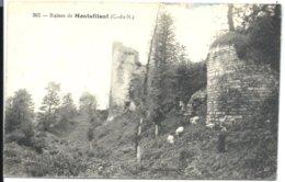 MONTAFILANT - Ruines Du Château - VENTE DIRECTE X - Autres Communes