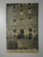 42 Saint Georges En Couzan, Hotel Reynaud (7964) - Francia