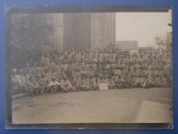 """Photographie Militaria En Noir Et Blanc - Haute Saône - Breuches - Le Groupe """"Puica"""" Du Groupement Le Blant En 1917 - Guerre, Militaire"""