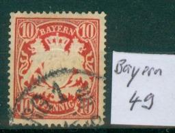 Bayern 49     O / Used  (L930) - Bavaria