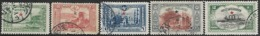 Turkey   1914    Sc#271-6  Set Of 5   Used  2016 Scott Value $8.50 - Gebraucht