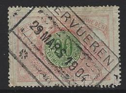 Y70 - Belgium - Railway Parcel Stamps - Used - Tervuren - Railway