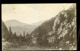Postcard, Romania, Bucegi Mountains, Malaesti Gorge, Used 1913, Publ. Wilhelm Hiemesch, Brasov - Romania