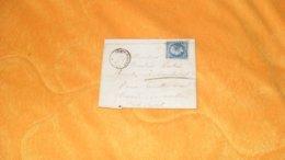 LETTRE ANCIENNE DE 1860../ BRIE COMTE ROBERT POUR COURBEVOIE..CACHETS + OBLITERATION 524 PC + TIMBRE - 1849-1876: Classic Period