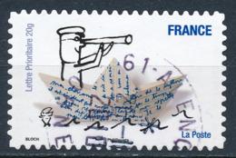 France - Sourires De Serge Bloch YT A478 Obl. Cachet Rond Manuel - Francia