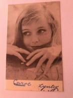 Carol Lynley Actress Photo Autograph Hand Signed 10x15 Cm - Dédicacées