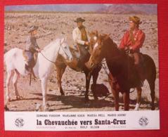 16 Photos Du Film La Chevauchée Vers Santa Cruz (1963) - Albums & Collections