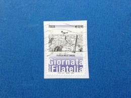 2015 ITALIA FRANCOBOLLO USATO STAMP USED GIORNATA DELLA FILATELIA CARCERI - 2011-...: Usati
