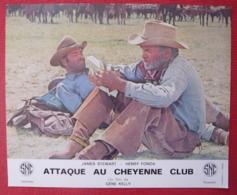 16 Photos Du Film Attaque Au Cheyenne Club (1970) - Albums & Collections