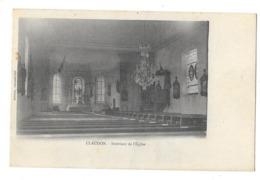 CLAUDON (88) Intérieur De L'église - Other Municipalities