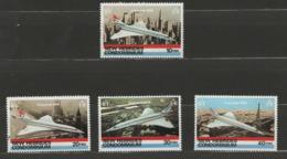 Nouvelles-Hébrides YT 531-534 XX / MNH Aviation Concorde - Neufs