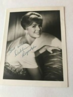 Debbie Reynolds Actress Photo Hand Signed Autograph 10x15 Cm And Letter Hand Signed - Dédicacées