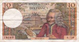 10 Francs 5-11-1971 Circulee - 10 F 1963-1973 ''Voltaire''