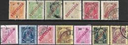 Mozambique Company  1916  13 Diff Used To The 70c  2016 Scott Value $7.45 - Mozambique