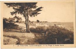 LES MOUTIERS (44) La Plage à Marée Haute - Les Moutiers-en-Retz