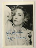 Faye Dunaway Actress Photo Autograph Hand Signed 12x17 Cm - Fotos Dedicadas