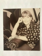 Stephene Audran Actress Photo Autograph Hand Signed 12x17 Cm - Fotos Dedicadas