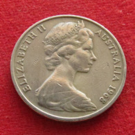 Australia 20 Cents 1968 KM# 66  Australie Australien - Australia
