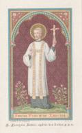 MOOI PRENTJE  VAN SANCTUS FRANCISCUS XAUERIUS. - Religion &  Esoterik
