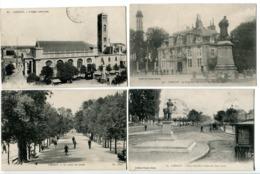 5CP LORIENT Ttes Cachet Militaire 62e Infanterie Eglise Louis Préfecture Maritime Cours Quais Chazelles Rue Massé Cercle - Lorient