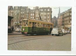 TRAMWAYS DE LILLE (TELB) MOTRICE A ESSIEUX TYPE 800 (1935 1936) VUE PRISE EN 1964 PLACE DE LA GARE A LILLE - Lille