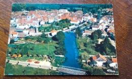 MIREBEAU SUR BEZE - Vue Générale Aérienne (anciennes Voitures, Tracteur, Pont) - Mirebeau