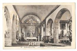 BELLE ILE EN MER (56) Locmaria Intérieur De L'église - Belle Ile En Mer