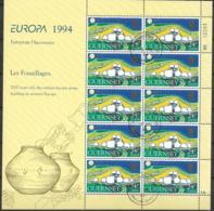 1994 Guernsey   Mi 635-8 Used   Europa: Entdeckungen Und Erfindungen - Europa-CEPT