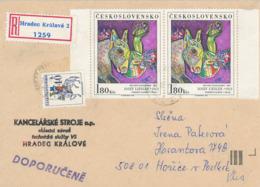 """Josef Liesler - National-Galerie Prag Maler Graphiker Briefmarken-Designer - Sudetendeutscher """"Deutschland In Mir Fremd"""" - Disease"""