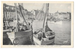 BELLE ILE EN MER (56) Barques De Peche Dans L'avant Port - Belle Ile En Mer