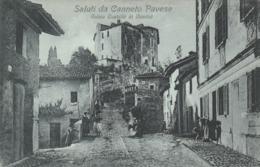 SALUTI DA CANNETO PAVESE - ANTICO CASTELLO DI MONTU - Pavia