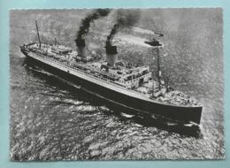 """CPSM Compagnie Générale Transatlantique - French Line Paquebot """" Ile De France """" Edition Des Revues De France TBE - Dampfer"""