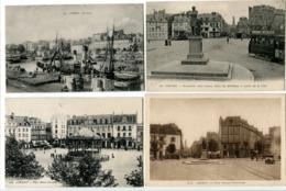 7 CP LORIENT Quais Bateau / Place Morbihan Entrée Ville Tram / Place Alsace Kiosque / Place Clémenceau / Panorama [3] - Lorient