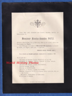 Document Ancien De 1914 - BAR LE DUC (Meuse) - Monsieur Nicolas Amédée PUTZ - 99 Boulevard De La Rochelle - Avvisi Di Necrologio