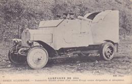 CPA - MILITARIA  -  Campagne De 1914 Armée Allemande - Automobile Blindée - 42 - Ausrüstung