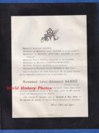 Document Ancien De 1915 - BAR LE DUC ( Meuse ) - Monsieur Léon Edouard BARRé , Tapissier - Avvisi Di Necrologio