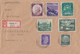DR R-Brief Mif Minr.516,769,773,765,785,807,810 Leipzig 22.11.41 - Briefe U. Dokumente