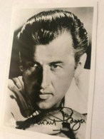 Stewart Granger Actor Photo Autograph Hand Signed 12x17 Cm - Fotos Dedicadas