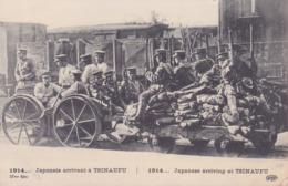 CPA - MILITARIA - Japonais Arrivant  à TSINAUFU - 1914 - Weltkrieg 1914-18