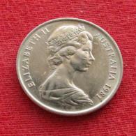 Australia 5 Cents 1981 KM# 64  Australie Australien - Australia